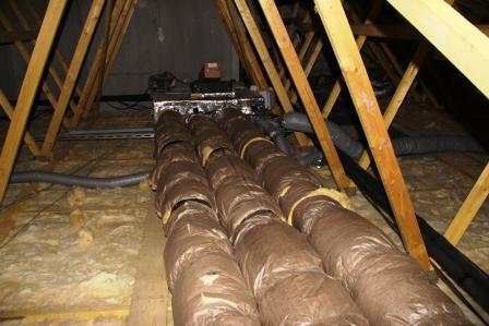 Unitée de chauffage par ventilation
